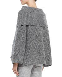 Carolina Herrera Turtleneck Box Sweater - Lyst