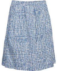 Noa Noa - Printed Skirt Above Knee - Lyst