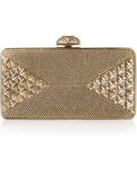 Judith Leiber Couture Diamond Crystal Box Clutch Bag - Lyst