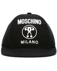 Moschino - Double Question Mark Cap - Lyst