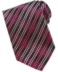 Missoni Houndstooth Pattern Silk Tie - Lyst