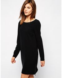 Y.a.s Fia Dress with Long Sleeve - Lyst