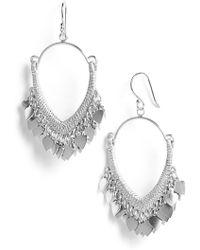 Satya Jewelry | 'Veils' Drop Earrings | Lyst