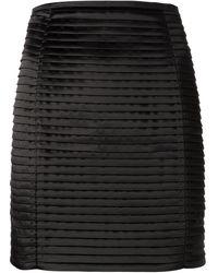 Balmain Pleated Skirt - Lyst