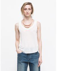 Need Supply Co. Raw V Neck white - Lyst