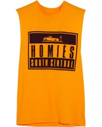 Brian Lichtenberg - Homiés Advisory Cotton-jersey Tank - Lyst