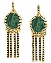 House Of Harlow 1960 Sunburst Fringe Earrings - Lyst
