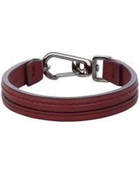 Tod's Leather Crossroad Bracelet - Lyst