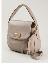 Marc By Marc Jacobs New Q Lil Ukita Leather Bag - Natural