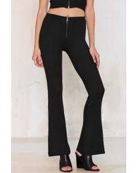 Line And Dot | Line & Dot St Martin Ribbed Flare Pants | Lyst