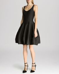 Halston Heritage Dress - Sleeveless Structured Tulip Skirt - Lyst