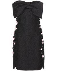 Giambattista Valli Embellished Jacquard Dress - Lyst