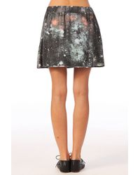 Volcom - Mini Skirt Stones in Space Skirt - Lyst