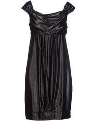Miss Sixty Short Dress - Lyst