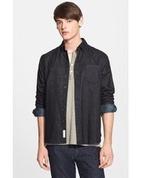 Rag & Bone Slim Fit Glen Plaid Oxford Shirt - Lyst