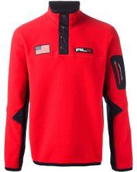 RLX Ralph Lauren - Zip Collar Sweatshirt - Lyst