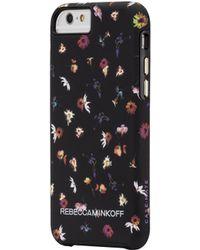 Rebecca Minkoff Floral-Print Iphone 6 Plus Case - Lyst
