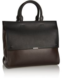Victoria Beckham Leather Tote - Lyst