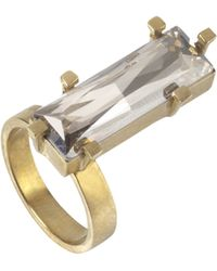 Noritamy - Clear Obi Set Ring - Lyst