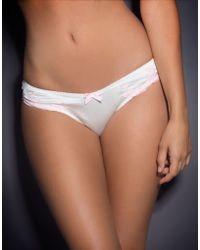 Agent Provocateur White Molly Brief - Lyst