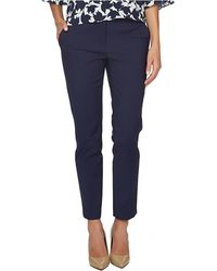 Cece by Cynthia Steffe - Double-weave Slim Ankle Trousers - Lyst