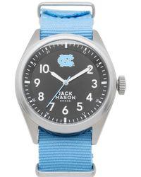 Jack Mason Brand - 'university Of North Carolina Tar Heels' Nato Strap Watch - Lyst