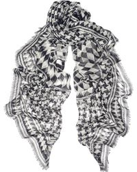Temperley London Empire Printed Modal and Silk-blend Scarf - Lyst