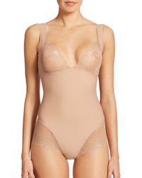 Simone Perele Top Model Body Shaper beige - Lyst