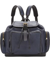 Pierre Hardy Two-Tone Backpack - Lyst