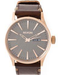 Nixon 'Sentry' Watch - Lyst