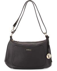 Furla Alida Leather Hobo Bag - Lyst