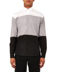 Jonathan Saunders Tricolour Bonded Pane Shirt - Lyst