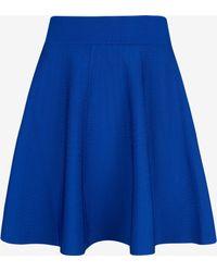 Ted Baker Knitted Flippy Skirt - Lyst