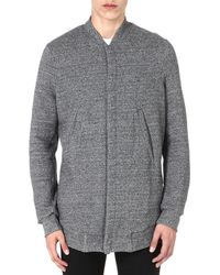 Paul Smith Long Bomber Jacket - Lyst