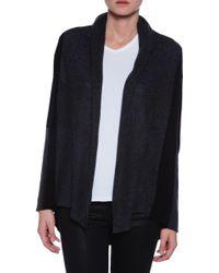 Subtle Luxury Two Tone Shawl Jacket - Lyst