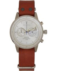 Triwa - Brown Stirling Nevil Chronograph Watch - Lyst