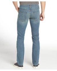 James Jeans - Hendrix Blue Straight Leg 'Travis' Low Rise Denim Jeans - Lyst