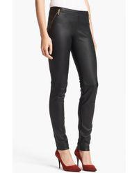 Emilio Pucci Women'S Leather Leggings - Lyst