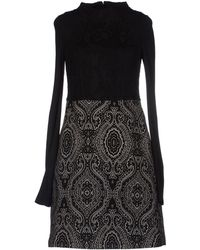 I'm Isola Marras Black Short Dress - Lyst