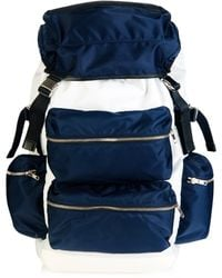 Tim Coppens X Porter Nylon And Leather Backpack - White
