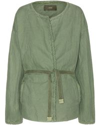 Closed Linen and Cotton-Blend Jacket - Lyst