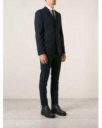 Acne Studios Blue Formal Suit - Lyst