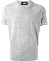 DSquared2 Paint Stains T-Shirt - Lyst