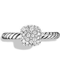 David Yurman Pavé Ring With Diamonds - Lyst