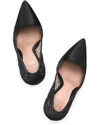 Tory Burch Black Glenna Pump - Lyst