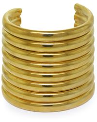 Vickisarge - Gold-Plated 'Burma' Arm Cuff - Lyst