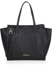 Ferragamo | Amy Convertible Leather Tote | Lyst