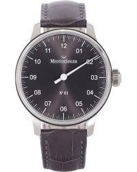 Meistersinger N&Deg;01 Watch - Lyst