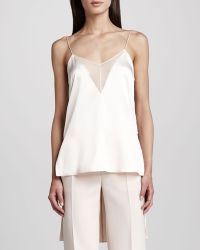 Adam Lippes - Womens Extendedback Camisole Blush - Lyst
