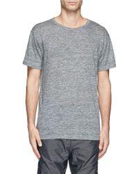 T By Alexander Wang Linen T-Shirt - Lyst